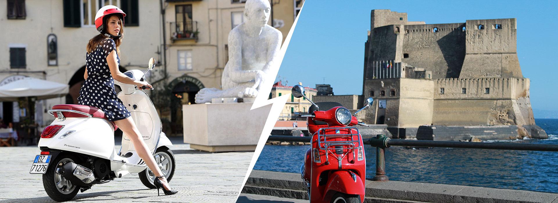 Noleggio Scooter Vespa Napoli