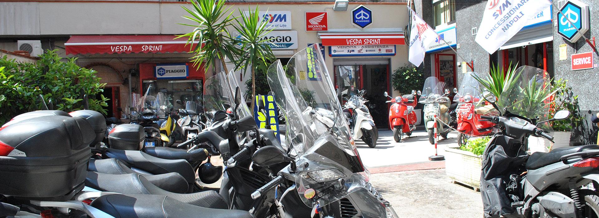 Assistenza Scooter Piaggio Vespa Gilera Sym Honda Napoli