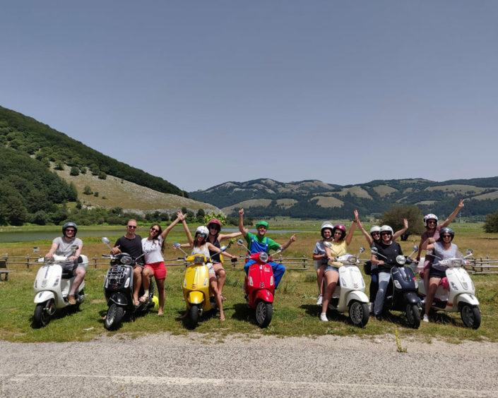 Tour Panoramico di Napoli Sorrento Positano Conca dei Marini Amalfi con Vespa